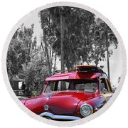 Round Beach Towel featuring the photograph Got Wood? by Shoal Hollingsworth