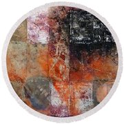 Grace And Chaos Round Beach Towel