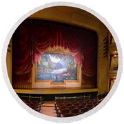 Grand 1894 Opera House - Orchestra Seating Round Beach Towel