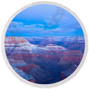 Grand Canyon At Dawn Round Beach Towel by Jonathan Nguyen