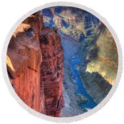 Grand Canyon Awe Inspiring Round Beach Towel
