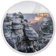 Grand Canyon South Rim Round Beach Towel