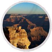 Grand Canyon Sunrise Two Round Beach Towel
