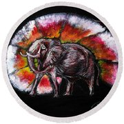 Grand Designs For Life On Earth Round Beach Towel