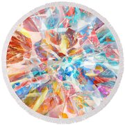Grand Entrance Round Beach Towel by Margie Chapman