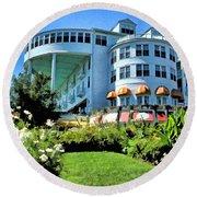 Grand Hotel - Image 002 Round Beach Towel