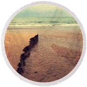 Great Lakes Great Times Round Beach Towel