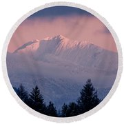 Round Beach Towel featuring the photograph Great Northern by Jack Bell