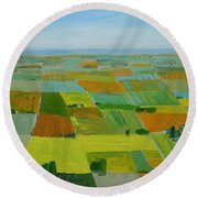 Great Plains Round Beach Towel