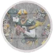 Green Bay Packers Team Round Beach Towel
