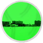 Green View. Special... Round Beach Towel