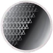 Grid 60 Float Round Beach Towel