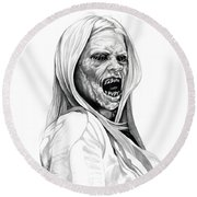 Grimm Hexenbiest Round Beach Towel