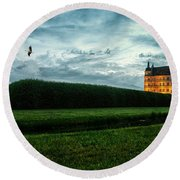 Guestrow Panorama Round Beach Towel