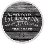 Guinness Round Beach Towel