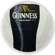 Guinness - The Perfect Pint Round Beach Towel