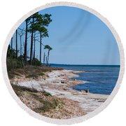 Gulf Island National Seashore 2 Round Beach Towel
