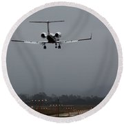 Gulfstream Approach Round Beach Towel