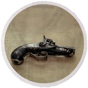 Gun Used By John Wilkes Booth Round Beach Towel