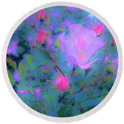 Gypsy Rose - Flora - Garden Round Beach Towel