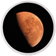 Half Moon Round Beach Towel
