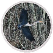 Round Beach Towel featuring the photograph Hallelujah by Neal Eslinger