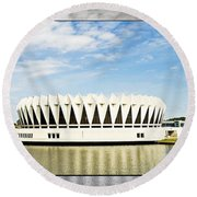 Hampton Coliseum Round Beach Towel