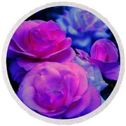 Round Beach Towel featuring the photograph Harmony In Color by Clayton Bruster