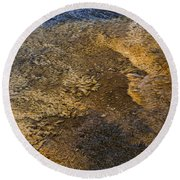 Round Beach Towel featuring the photograph Harmony by Nadalyn Larsen