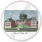 Harvard College - 1720 Round Beach Towel