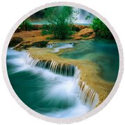 Havasu Travertine Round Beach Towel