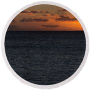 Round Beach Towel featuring the photograph Hawaiian Nights  by Heidi Smith