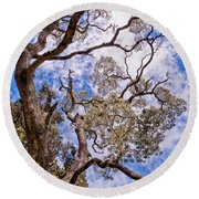 Hawaiian Sky Round Beach Towel