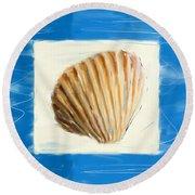 Heart Of The Sea Round Beach Towel