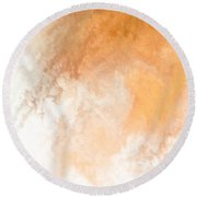 Heaven II Round Beach Towel