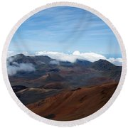 Heavenly In Hawaii Round Beach Towel
