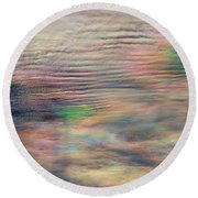 Round Beach Towel featuring the photograph Heavens Above by Charlotte Schafer