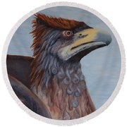 Griffon Round Beach Towel
