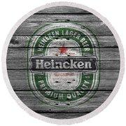 Heineken Round Beach Towel