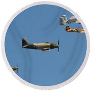 Heritage Round Beach Towel by David S Reynolds