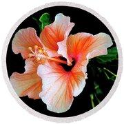 Hibiscus Spectacular Round Beach Towel
