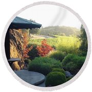Round Beach Towel featuring the photograph Hide Out 2 by Shawn Marlow