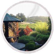 Round Beach Towel featuring the photograph Hide Out  by Shawn Marlow
