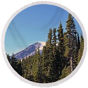 High Country Round Beach Towel