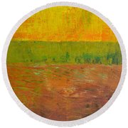 Highway Series - Soil Round Beach Towel