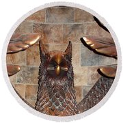 Hogwarts Hippogriff Guardian Round Beach Towel