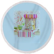 Home Accessories Round Beach Towel