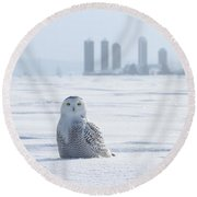 Home Away From Home Round Beach Towel