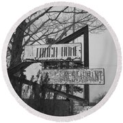 Round Beach Towel featuring the photograph Home Cooking  by Michael Krek
