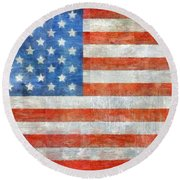 Homeland Round Beach Towel